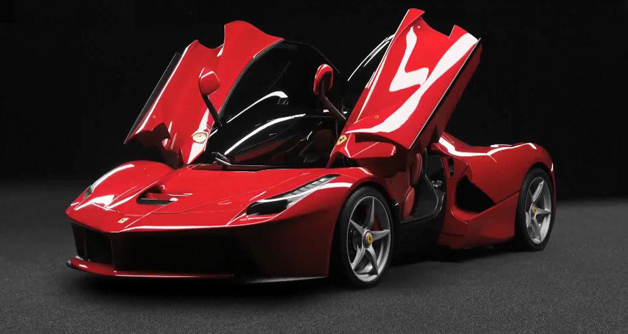 Ferrari LaFerrari slutsåld