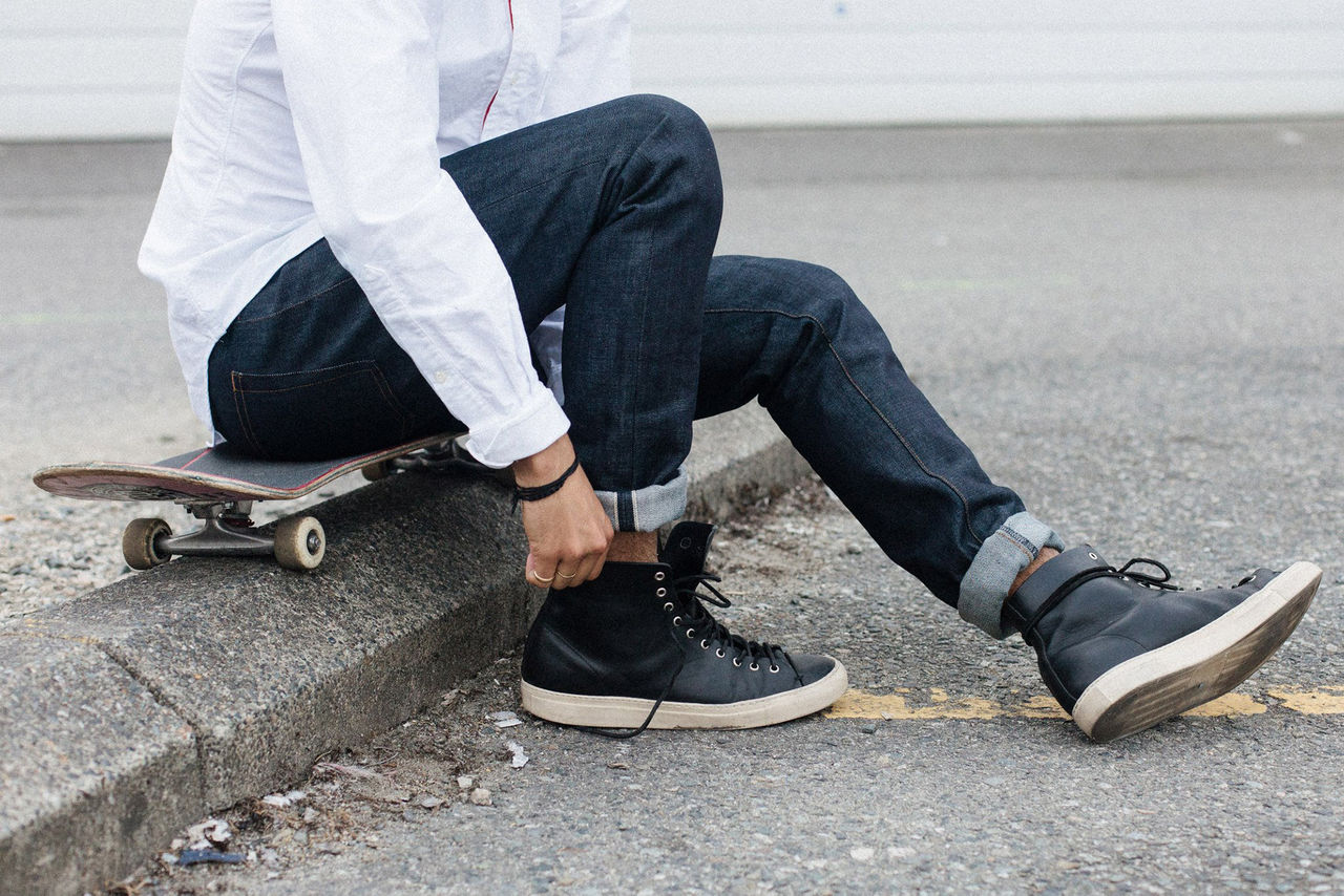 Vattentåliga jeans