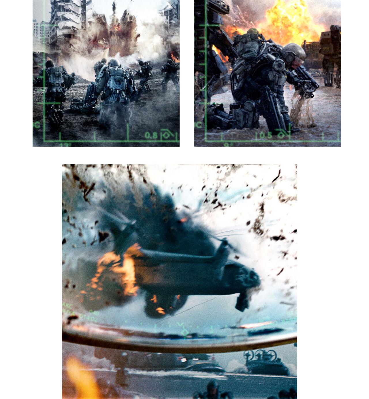 Bilder från Tom Cruises nya sci-fi
