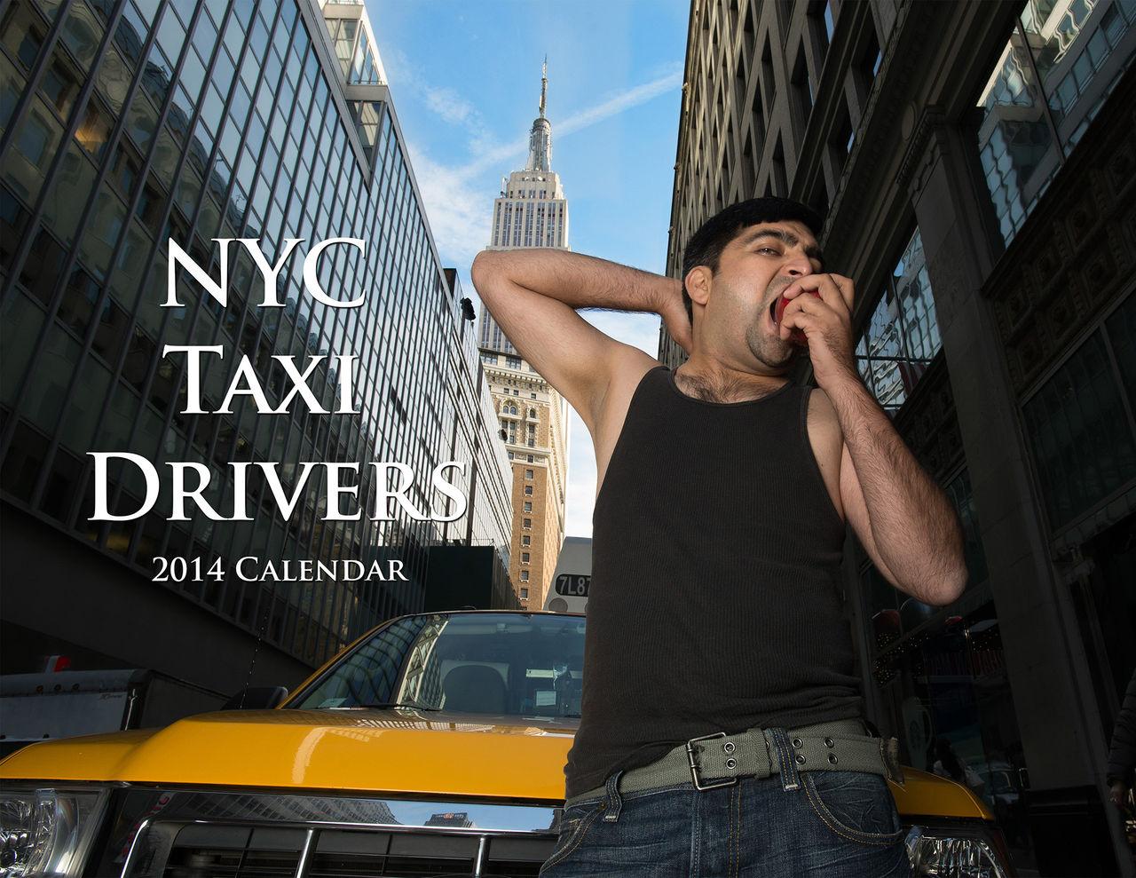 Kalender med taxiförare