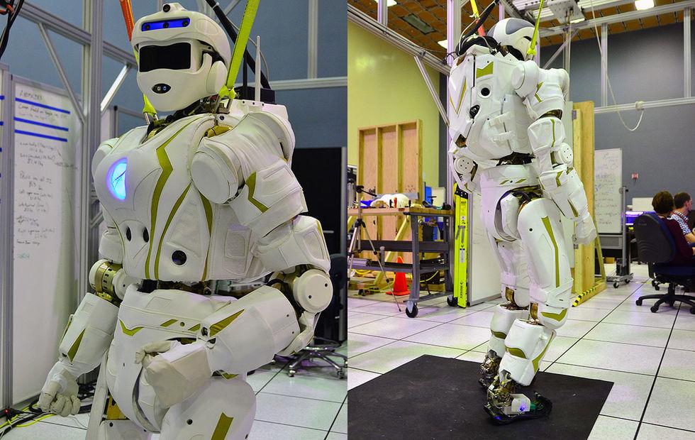 NASA visar upp roboten Valkyrie
