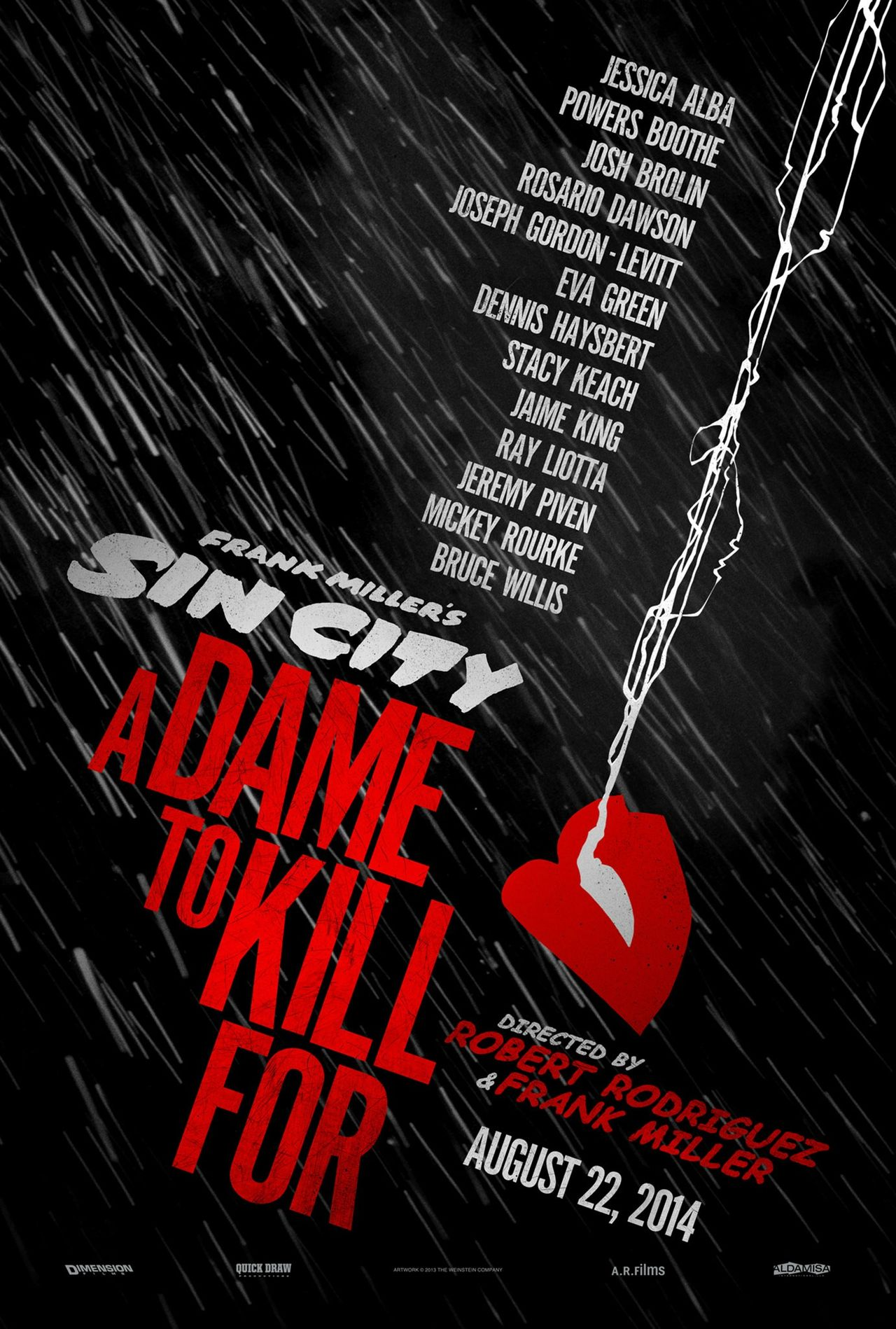 Poster för Sin City: A Dame to Kill For