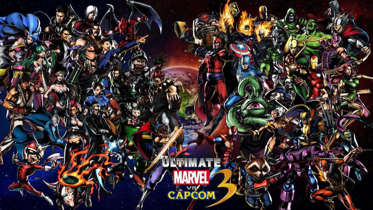 Marvel vs. Capcom-spelen försvinner