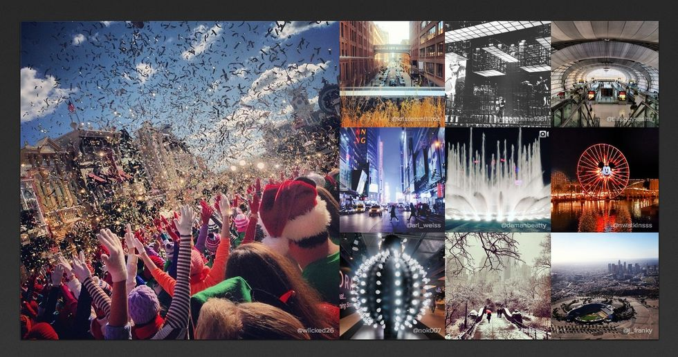 Mest instagrammade platsen 2013