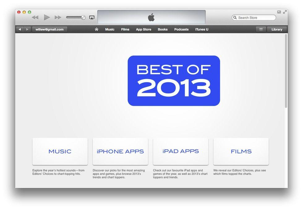 Bästa och mesta iOS-apparna 2013