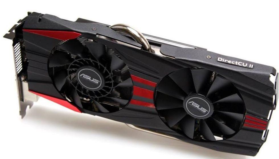 Asus lanserar Radeon R9 290X DirectCU II