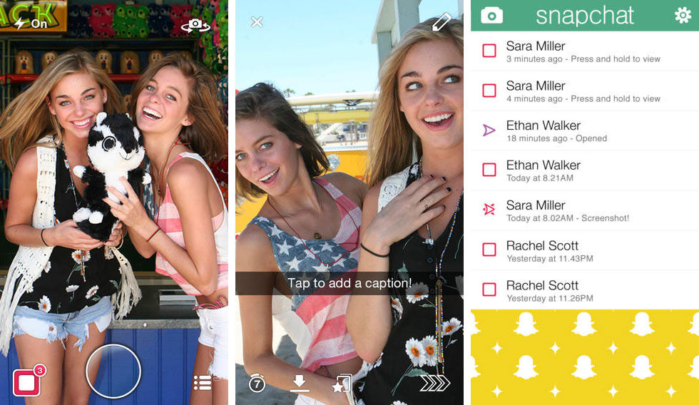 Snapchat uppdaterat