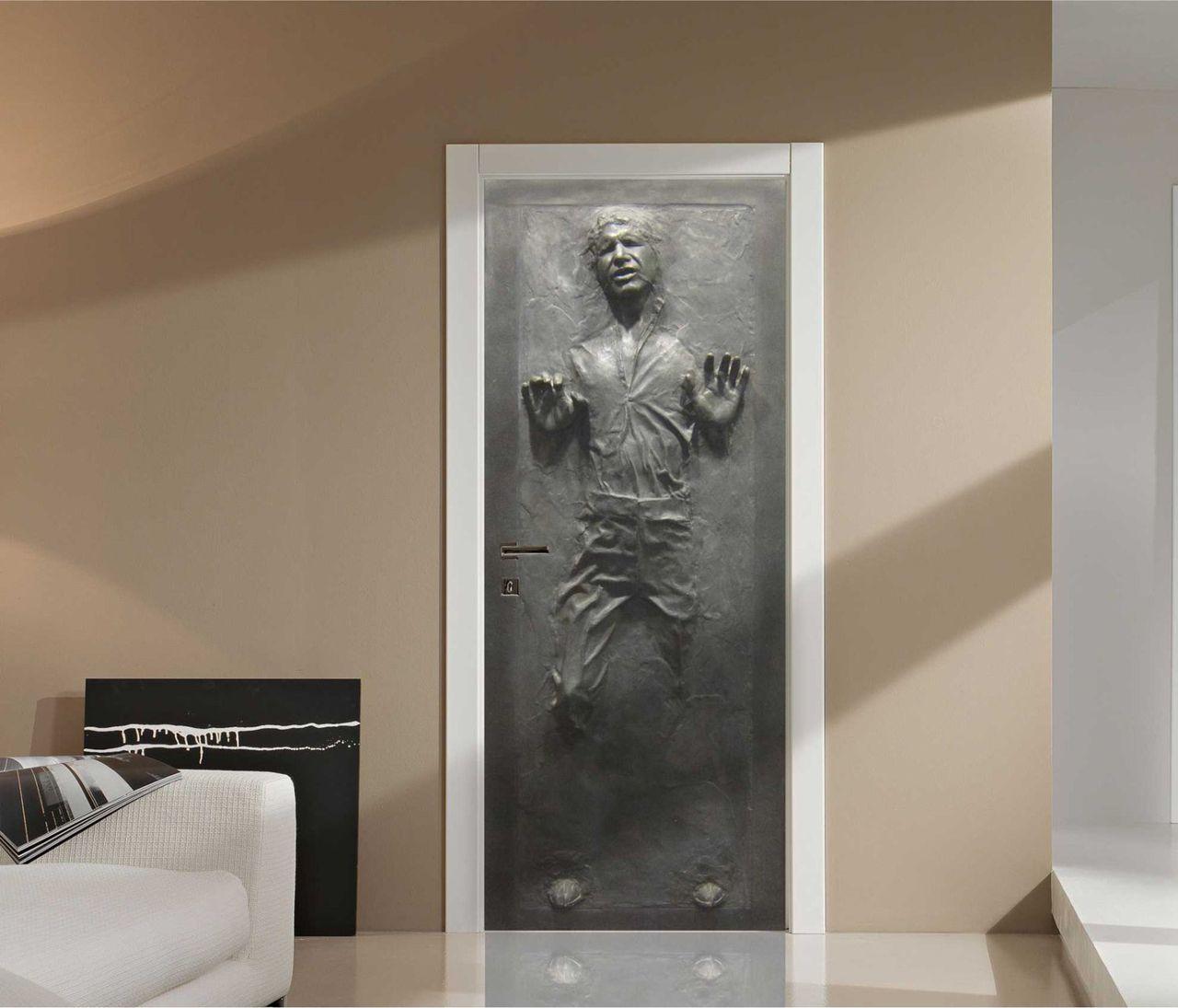 Sätt Han Solo på dörren