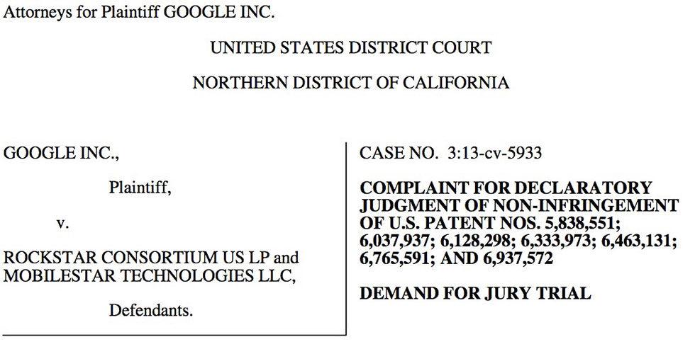 Google slår tillbaks mot Rockstar