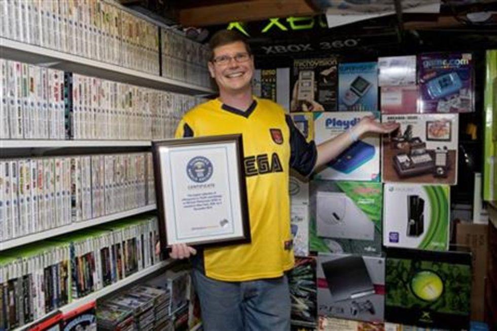Michael Thomasson har flest tv-spel
