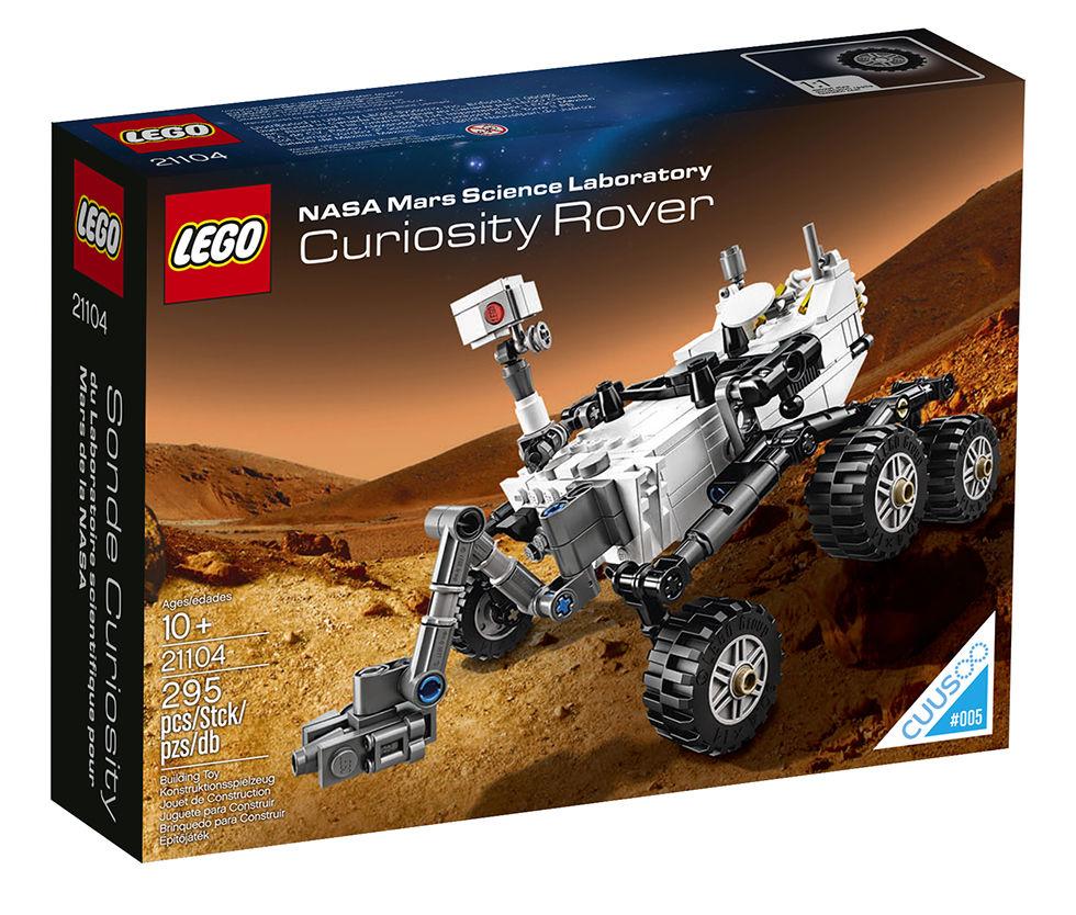 Curiosity i LEGO