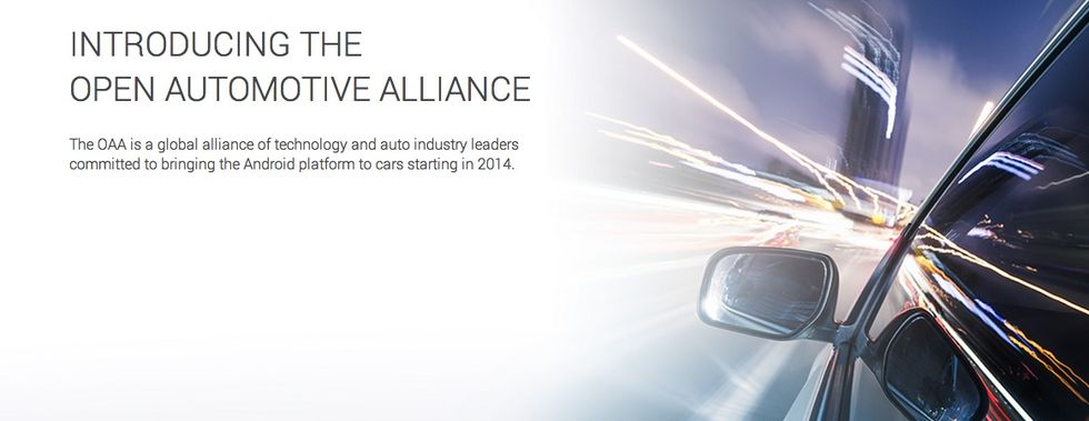 Google bildar Open Automotive Alliance
