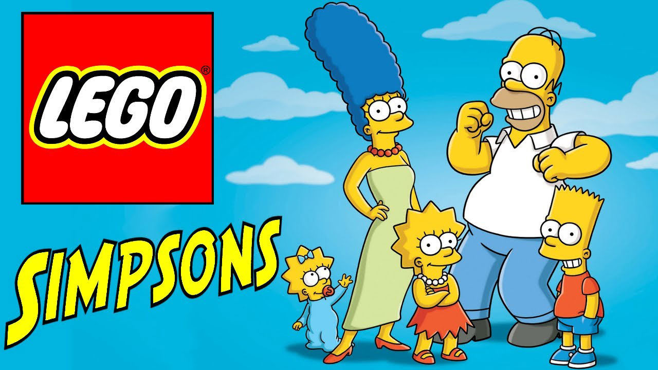 I år släpps The Simpsons-Lego!