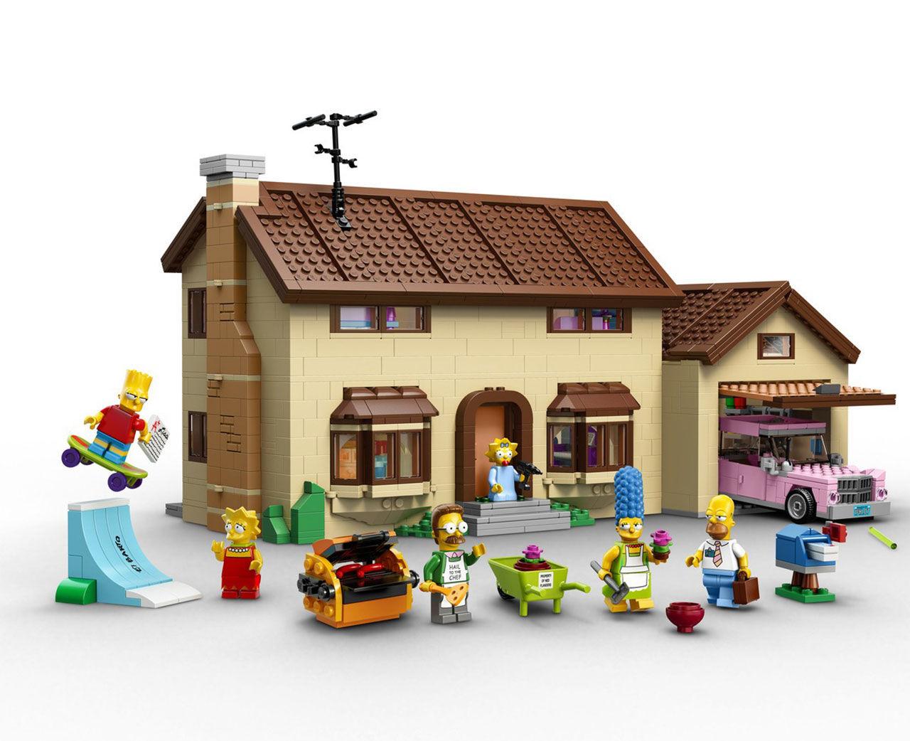 The Simpsons Lego är här