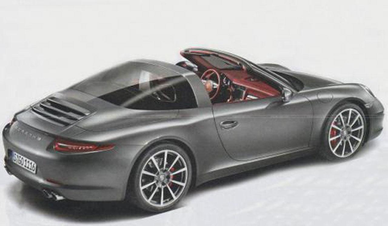 Nya Porsche 911 Targa presenteras 13 januari