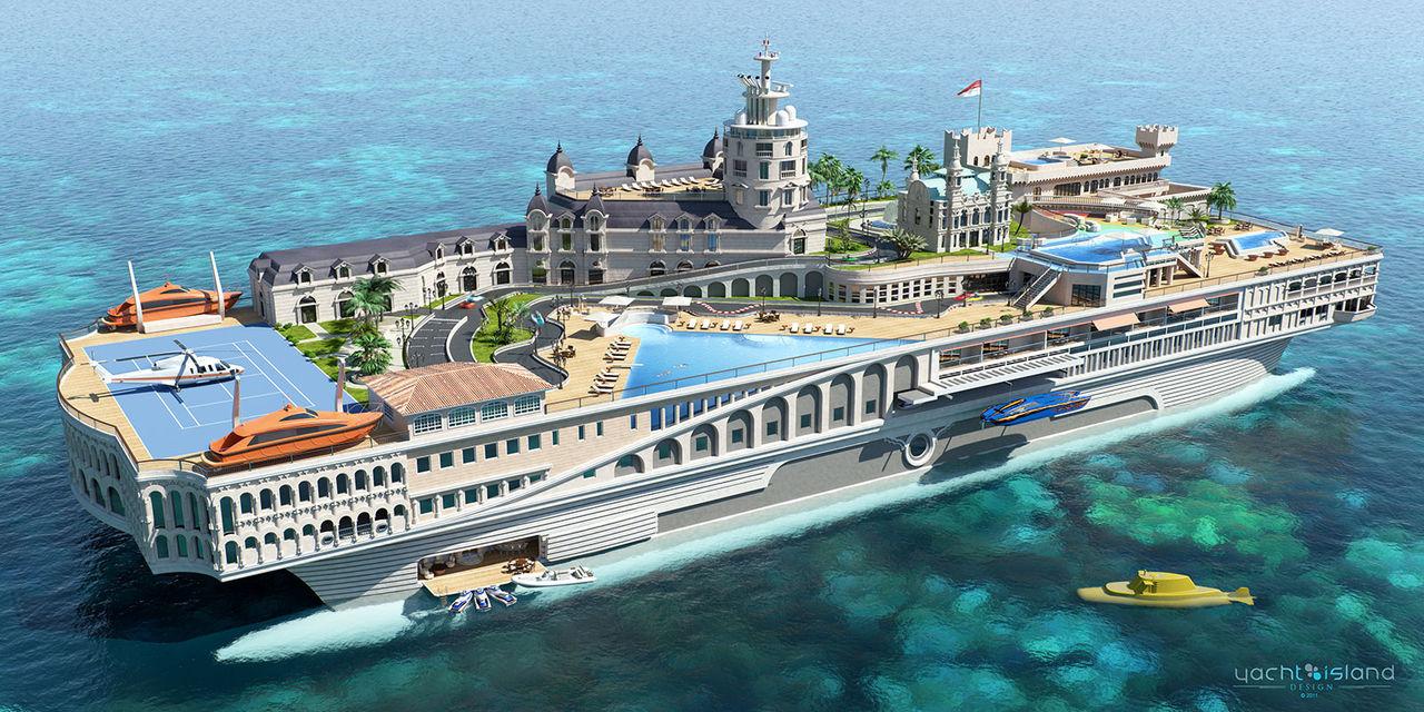 Flytande Monaco planeras