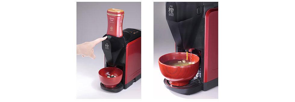Fixa miso-soppan med ett tryck