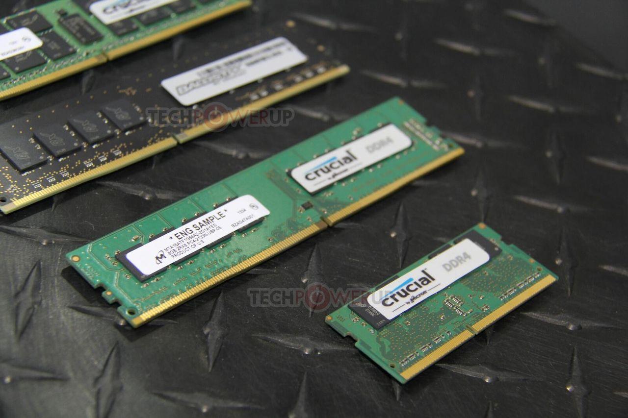 Crucial visar upp de första DDR4-modulerna