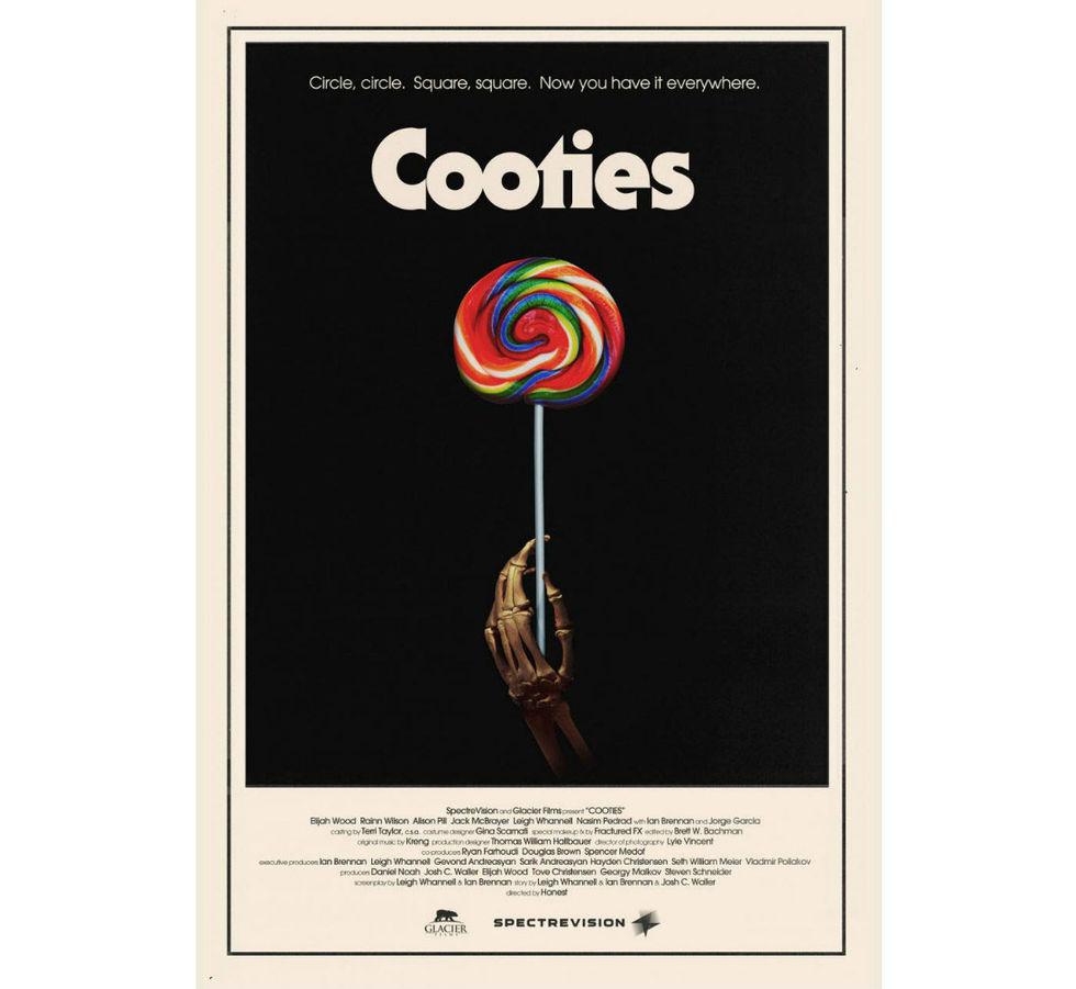 Snygg retroposter för Cooties