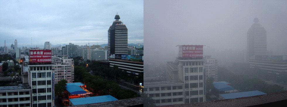 Nu kan man inte se solen i Peking längre