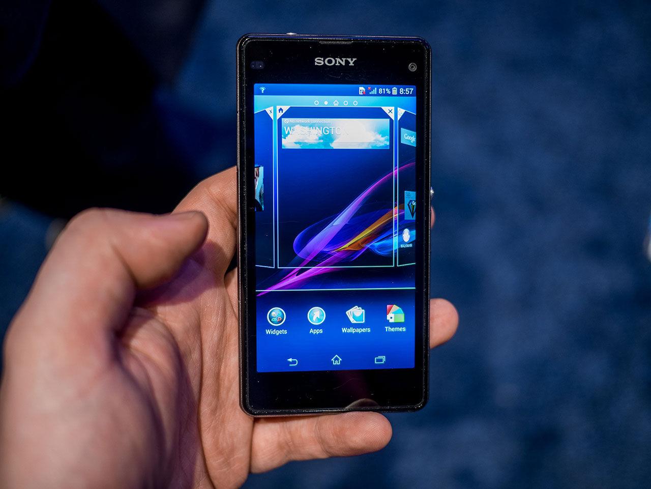 Vi har pillat på Sony Xperia Z1 Compact