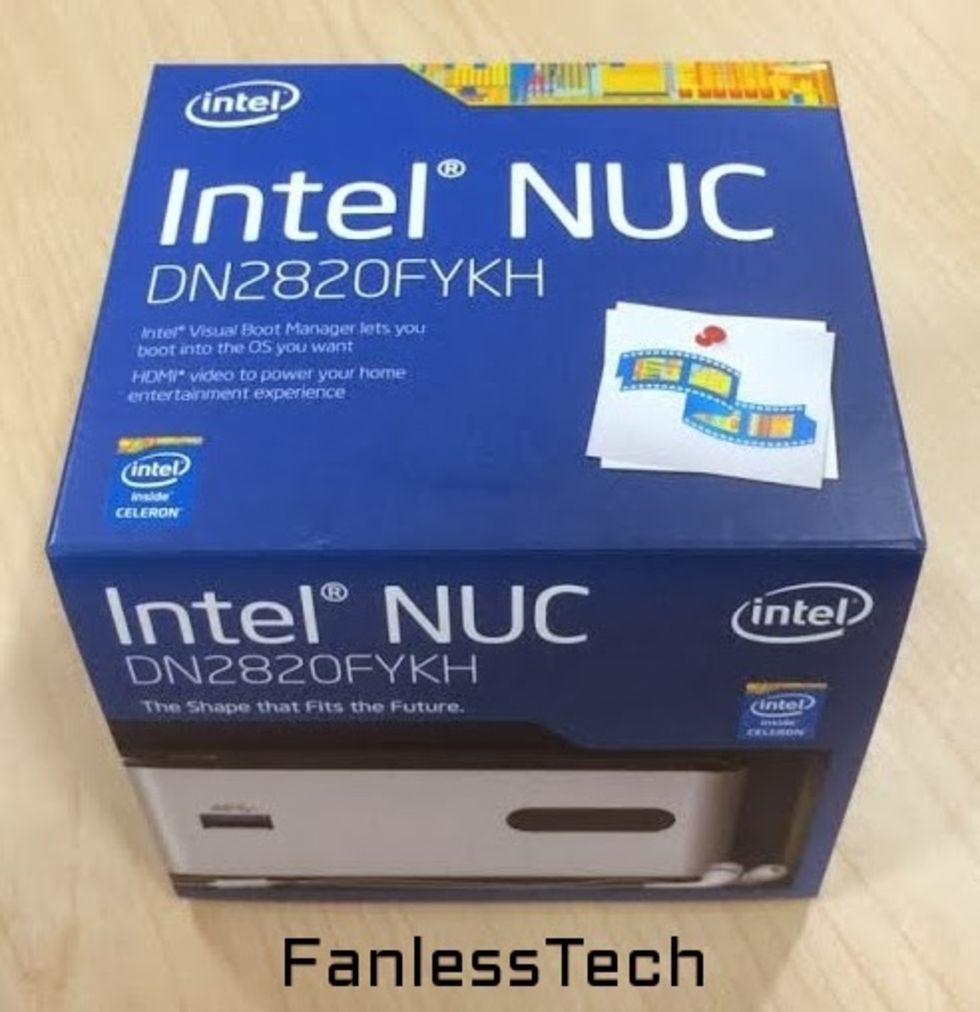 Intel släpper NUC med Bay Trail