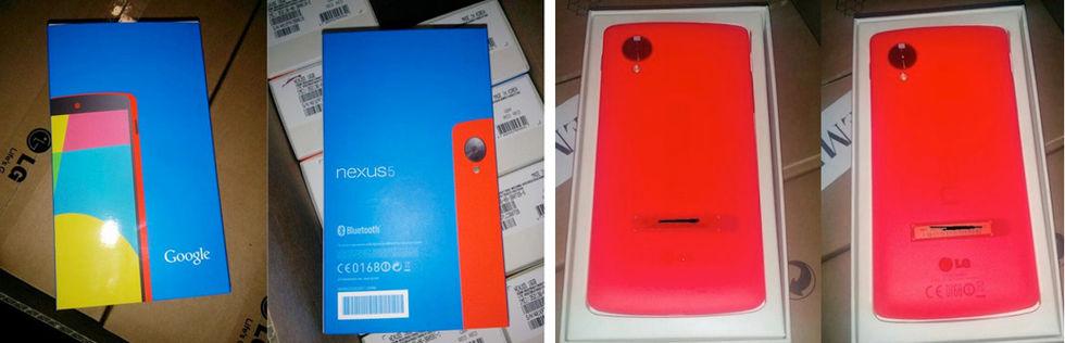 Röd Nexus 5 på gång?