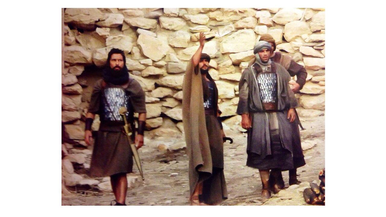 Senaste bilden från inspelningen av Exodus