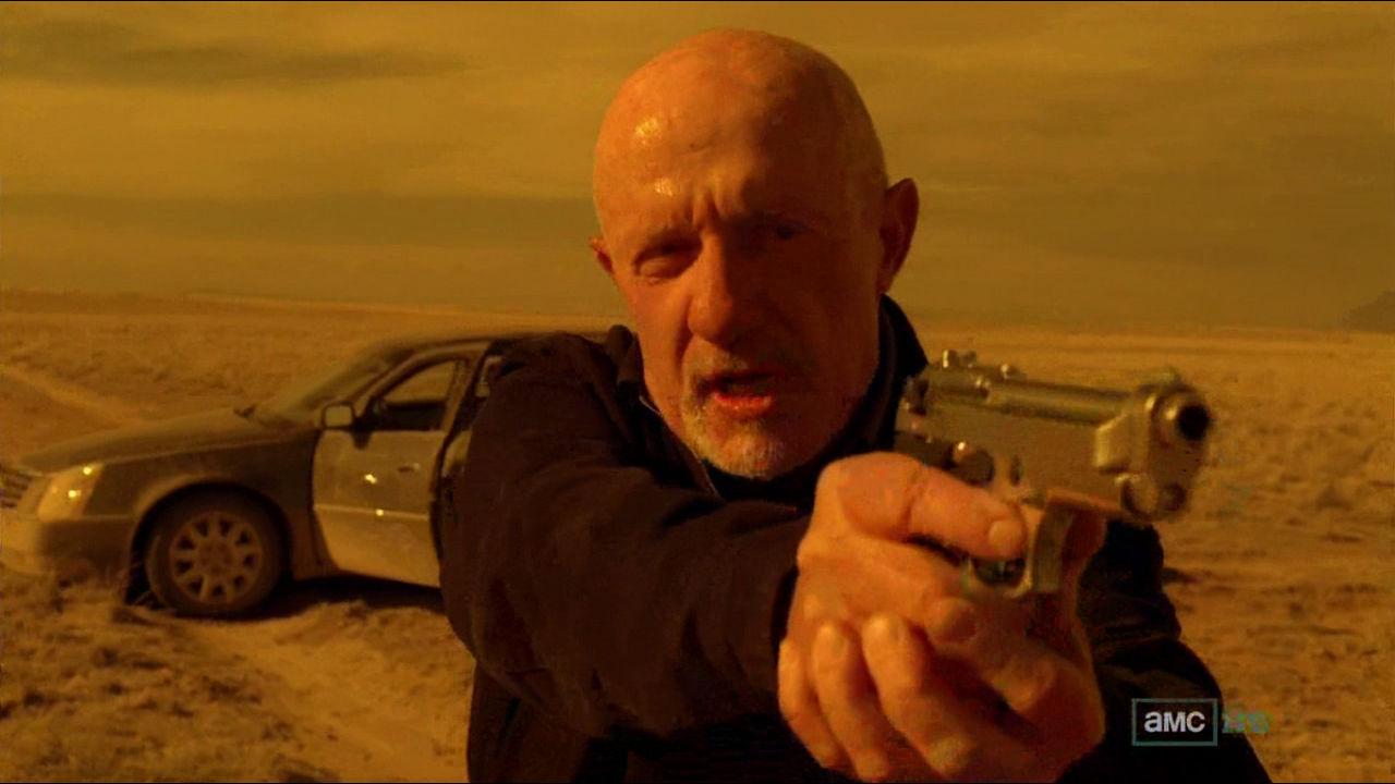 Mike Ehrmantraut är med i Better Call Saul