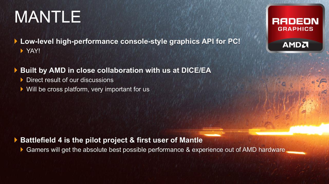 AMD släpper patch för Mantle