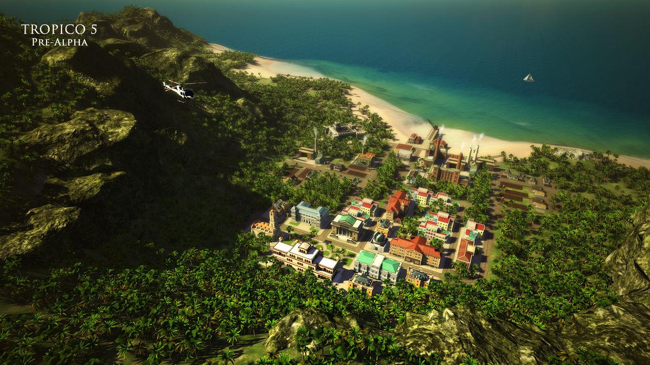 Tropico 5 till PlayStation 4
