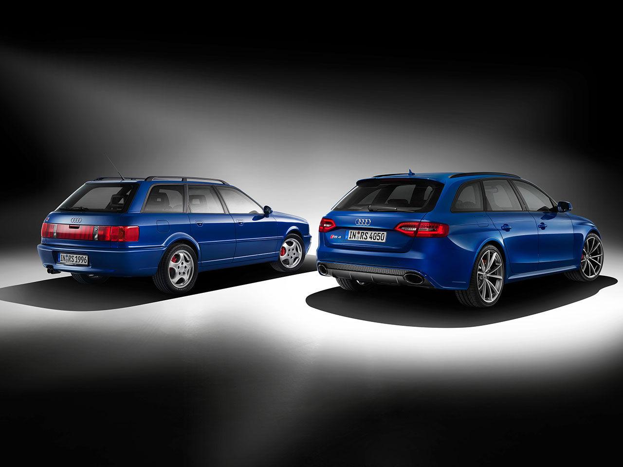 Audi hyllar RS 2 med Audi RS 4 Avant Nogaro selection
