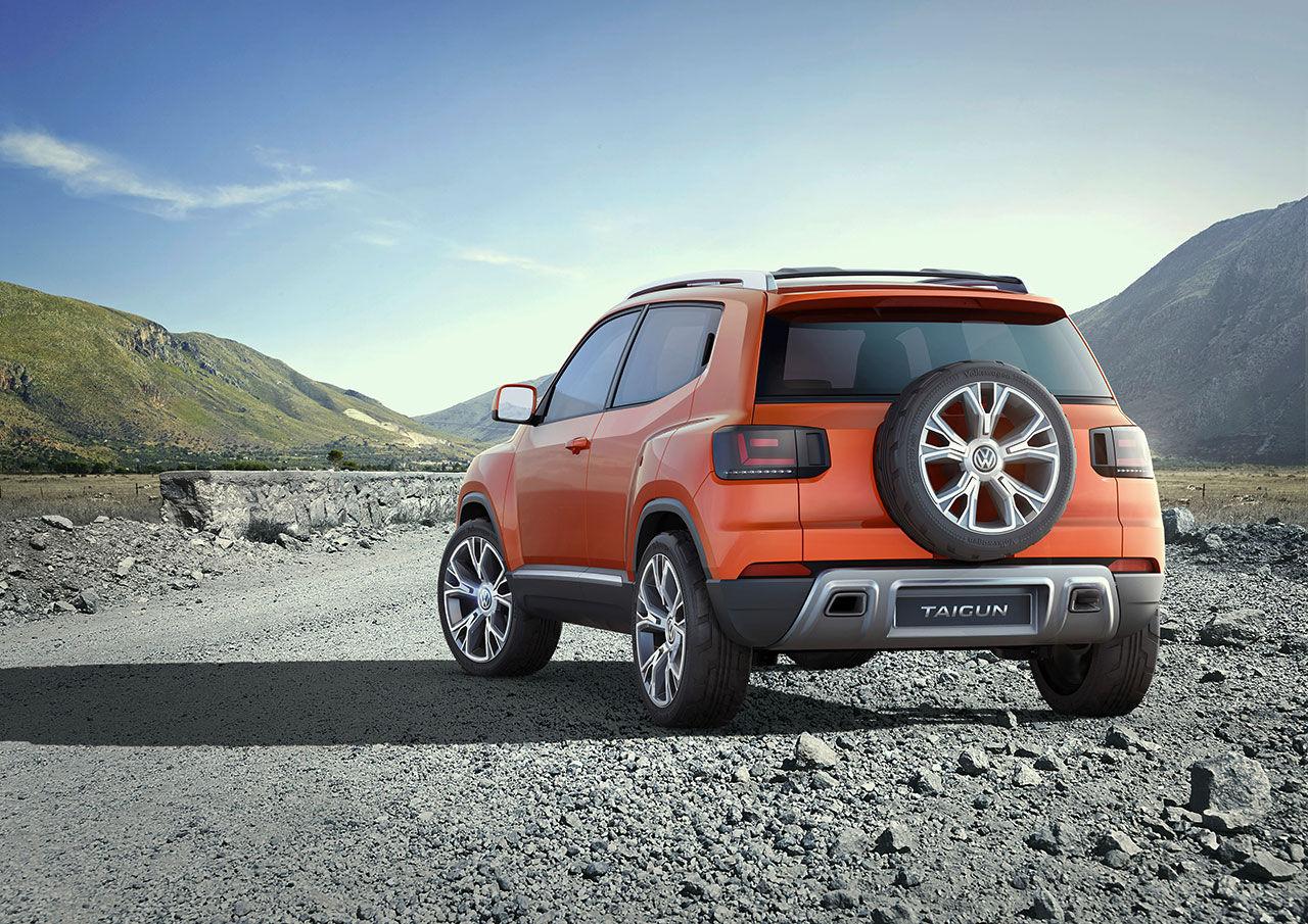 Volkswagen visar uppdaterad version av Taigun