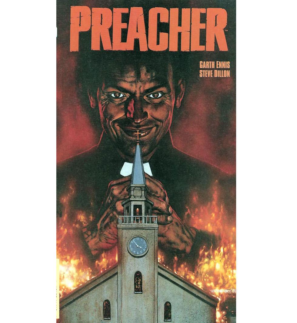 Seth Rogen och Evan Goldberg gör Preacher