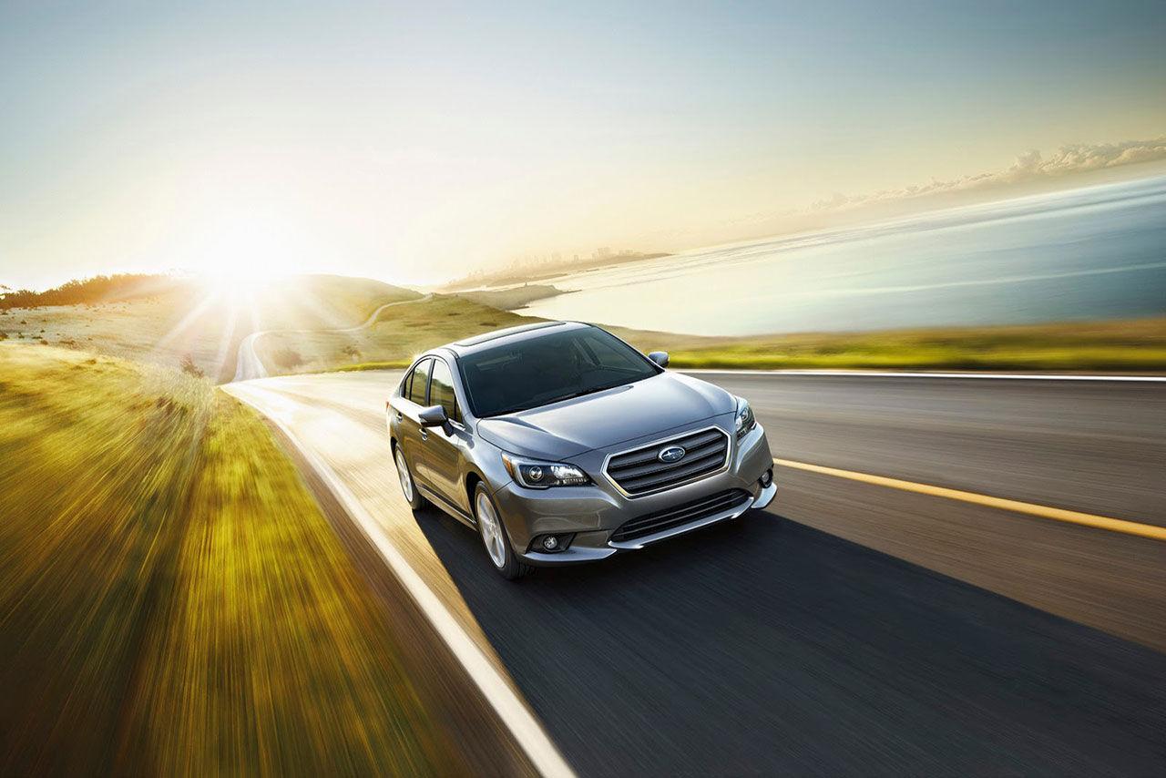 Subaru presenterar nya Legacy