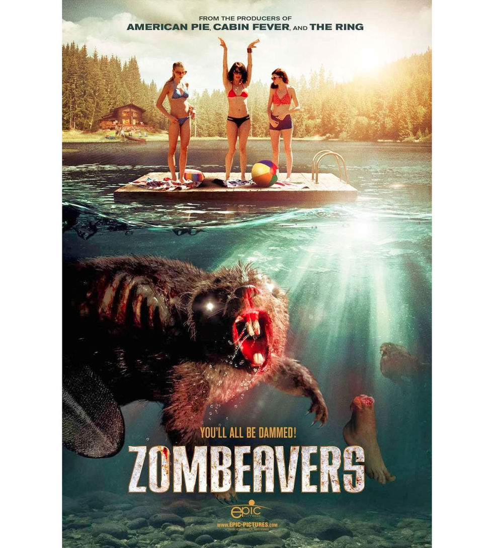 Red Band-trailer för Zombeavers