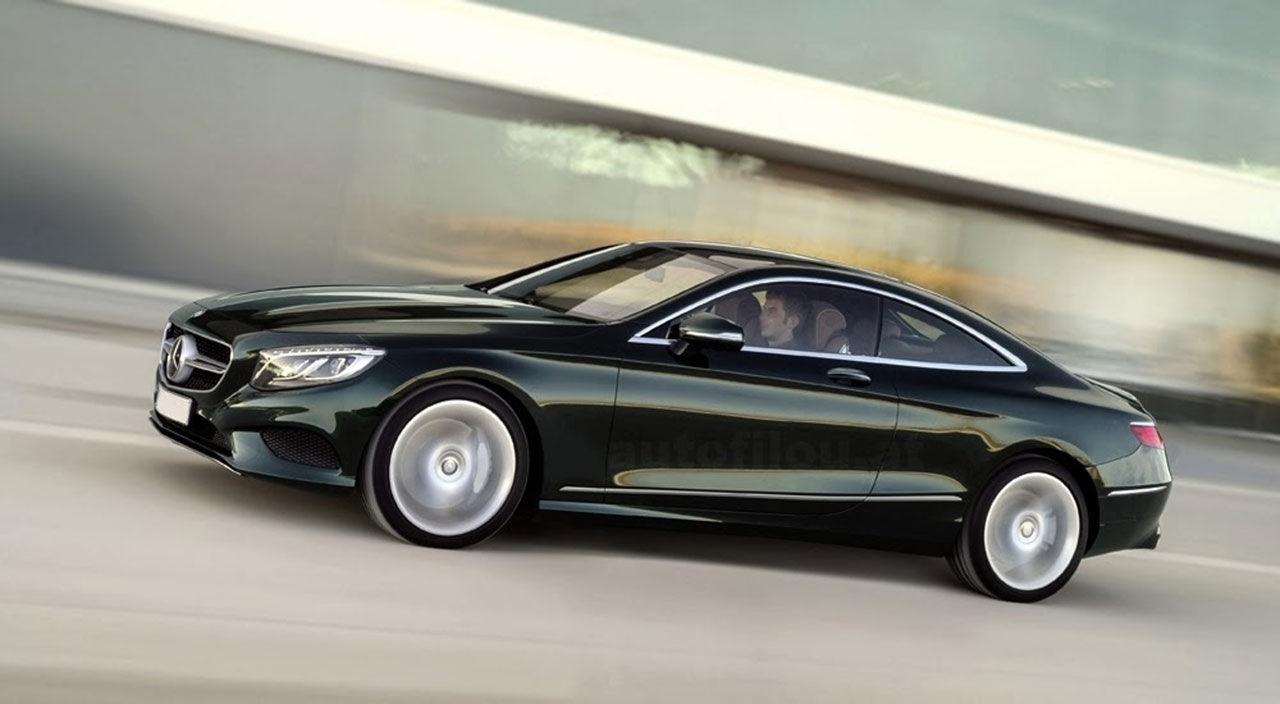 Mercedes S-Klass Coupé läcker ut