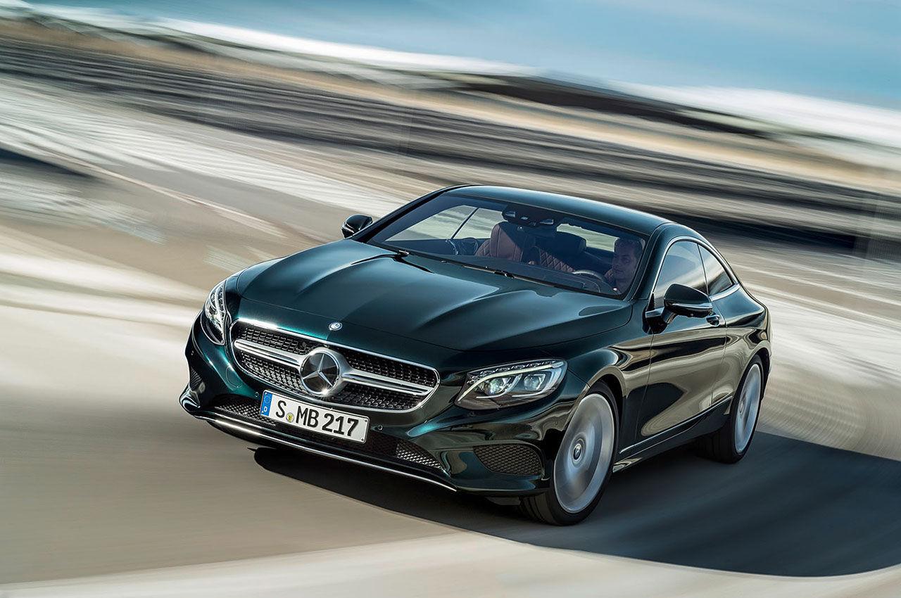 Mercedes presenterar S-Klass Coupé