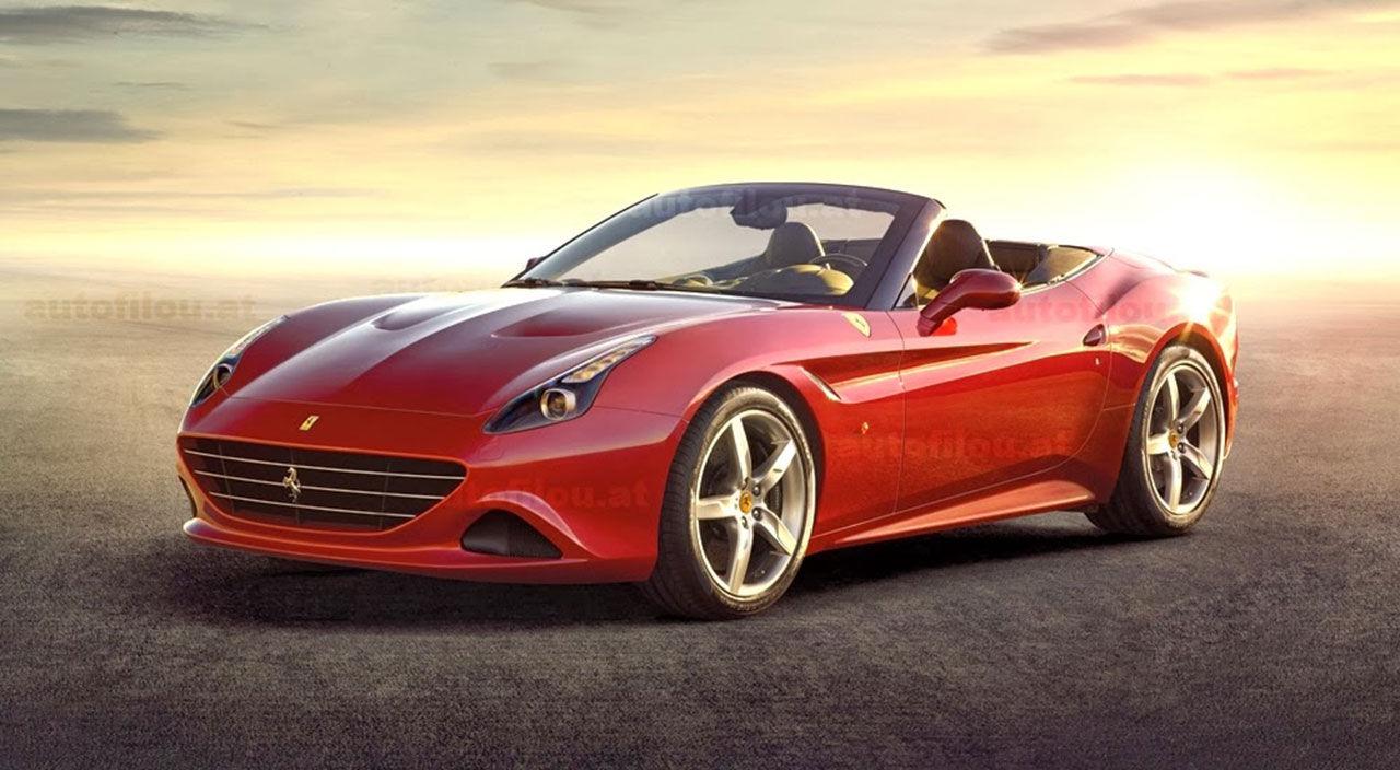 Nya Ferrari California läcker ut