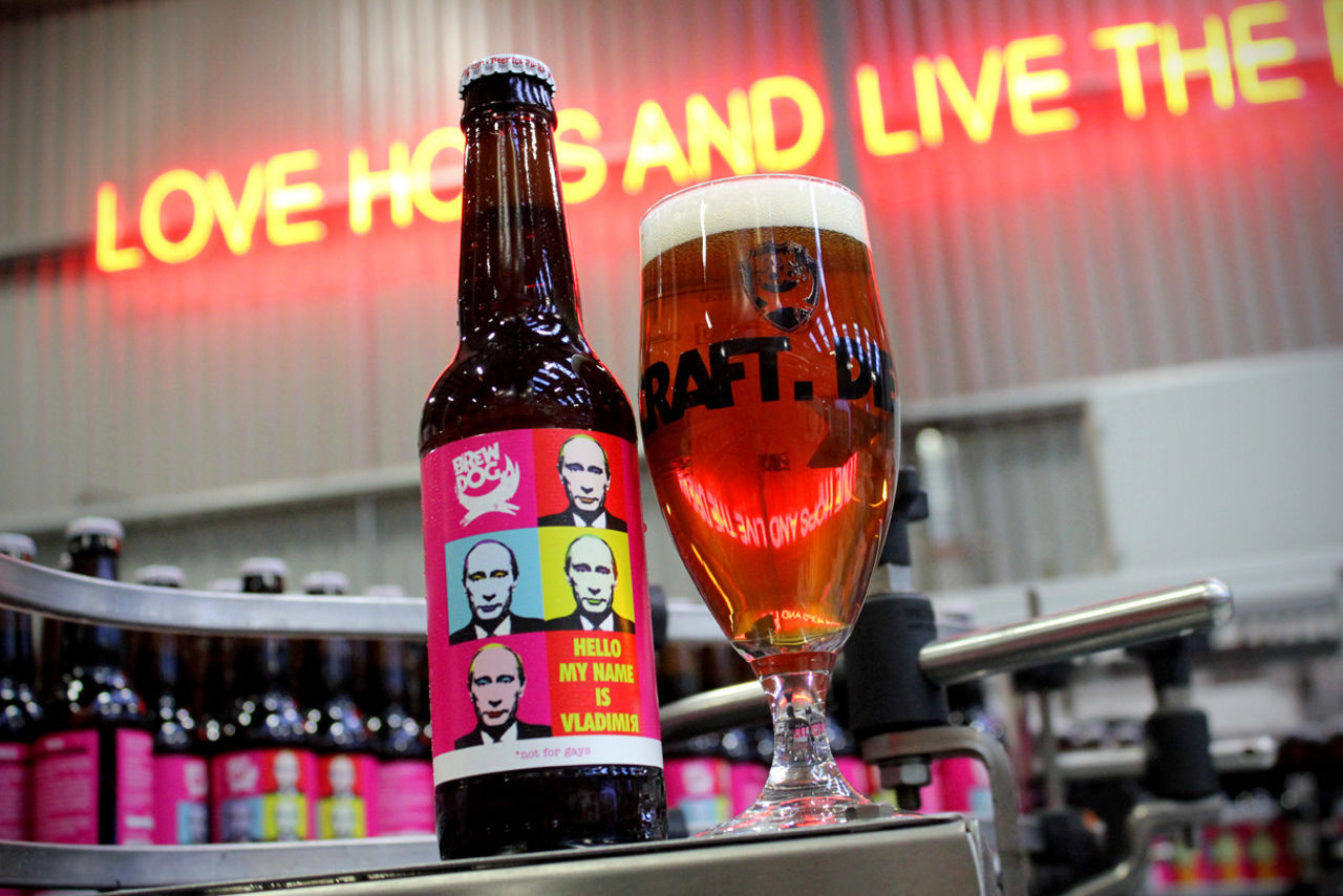 Putin-ölet nu i Sverige