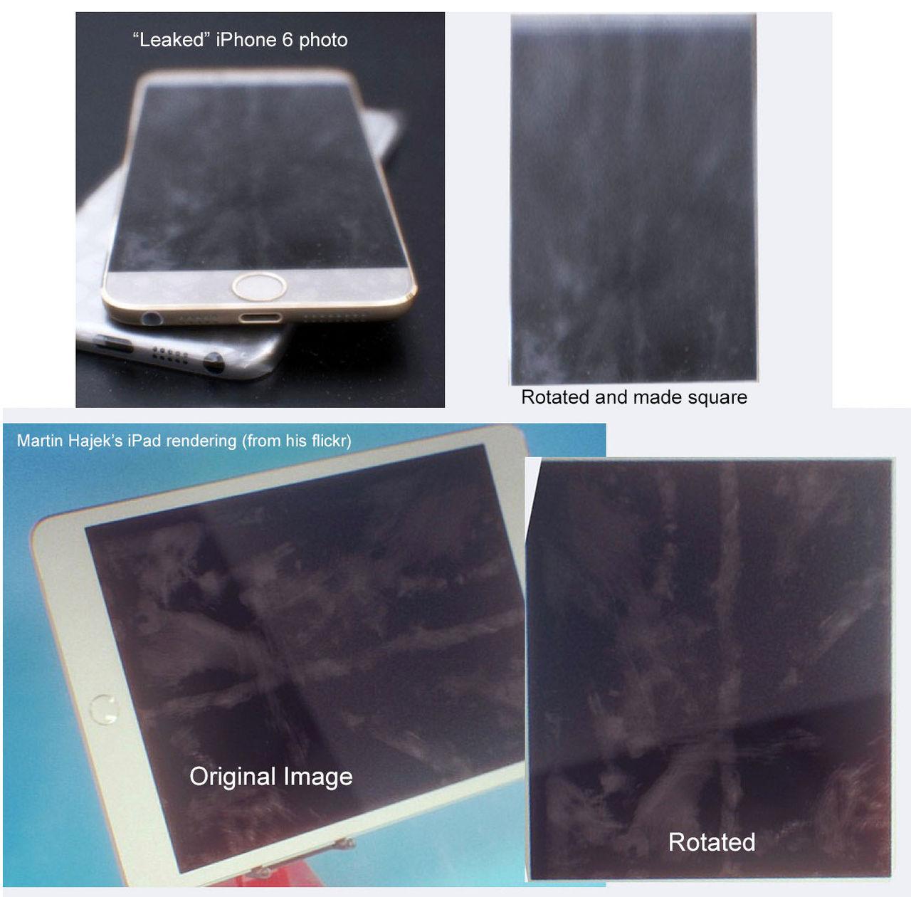 Fejkade bilder på iPhone 6 cirkulerar