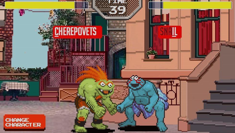 Spela Sesame Street Fighter