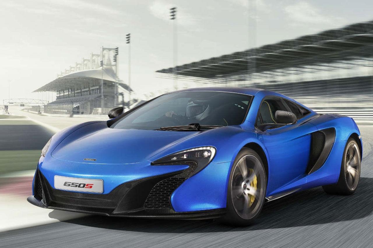 McLaren 650S nu officiell