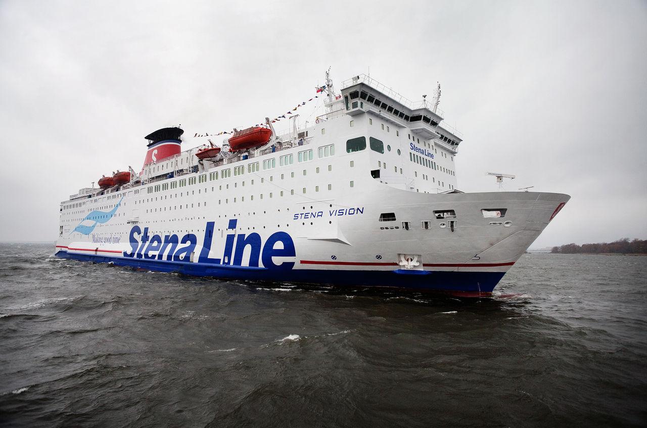 Stena Line öppnar bordershop på vattnet