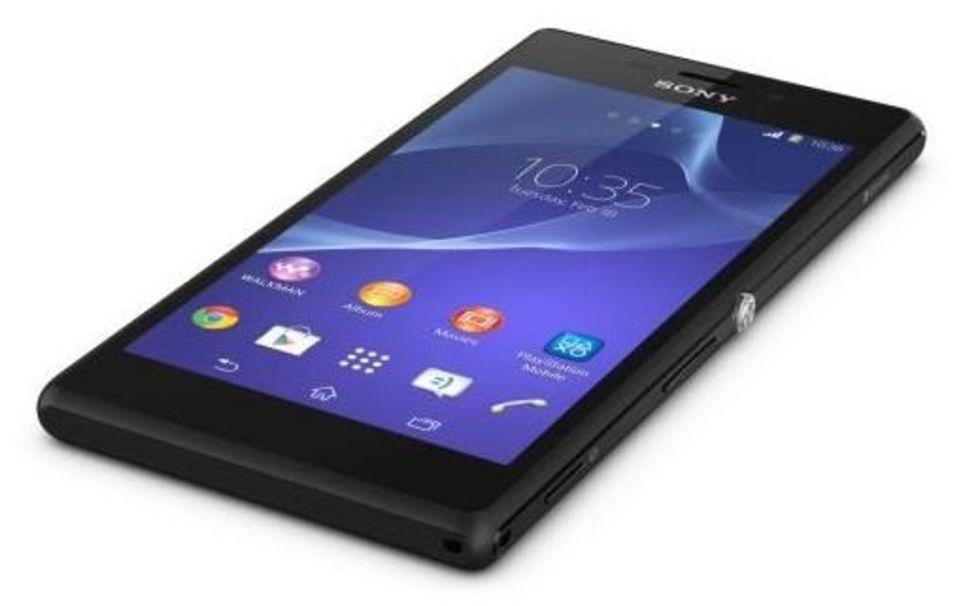 Sony visar upp Xperia M2