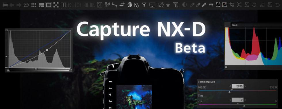 Nikon släpper beta av ny programvara