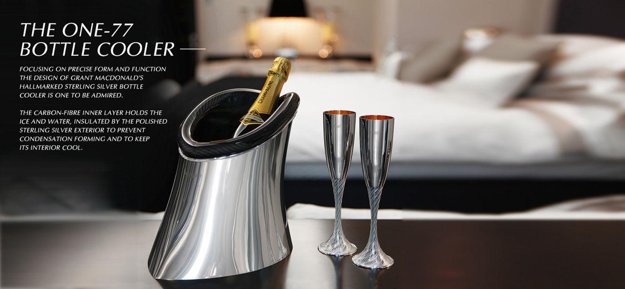 Champagnekylare från Aston Martin