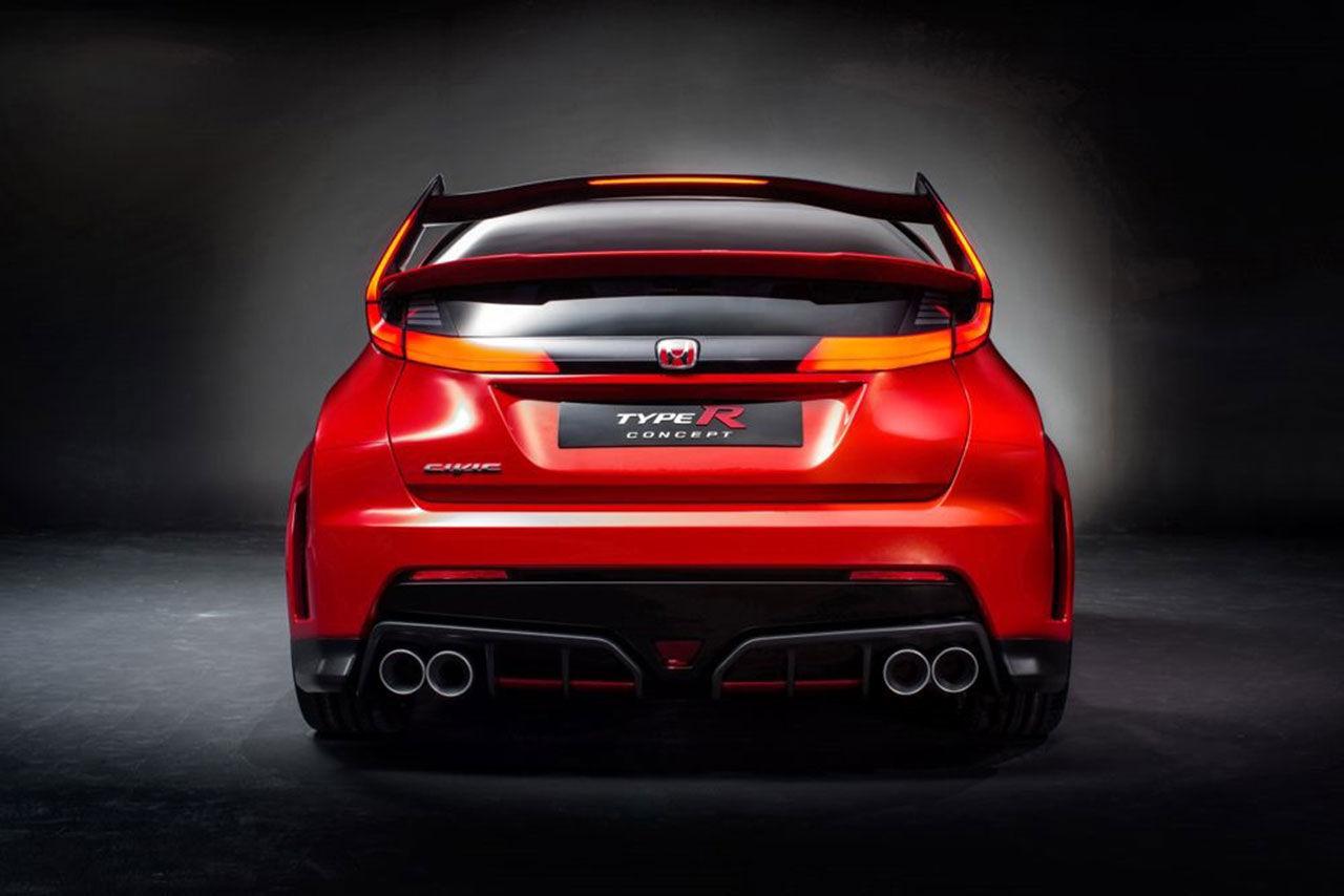 Honda presenterar Civic Type R Concept