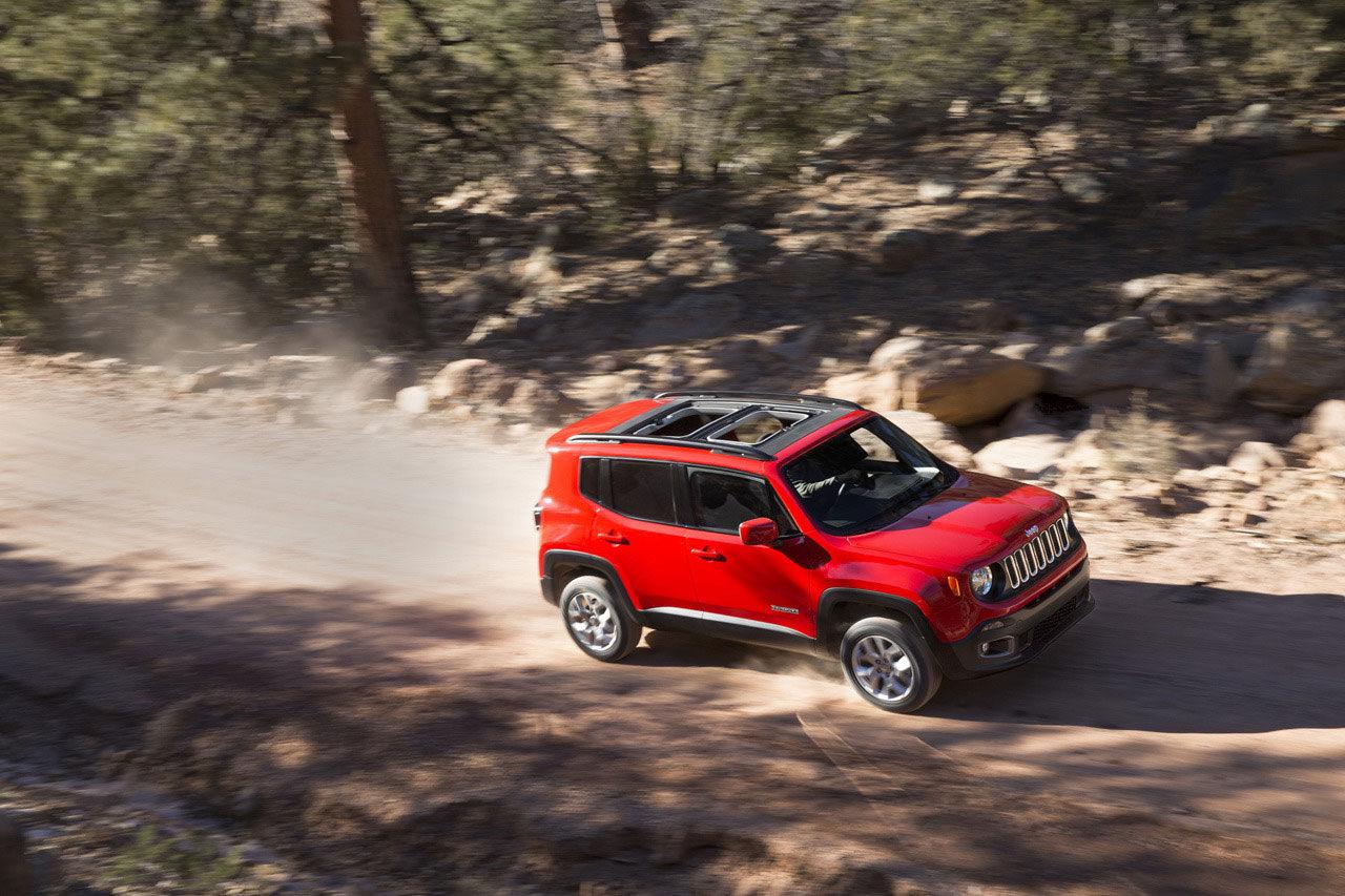 Jeep visar upp en mindre suv - Renegade