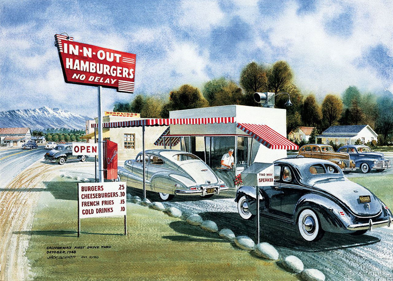 Historien om In-N-Out Burger